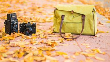 Fotoaparát a taška