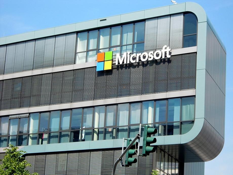 Microsoft budova