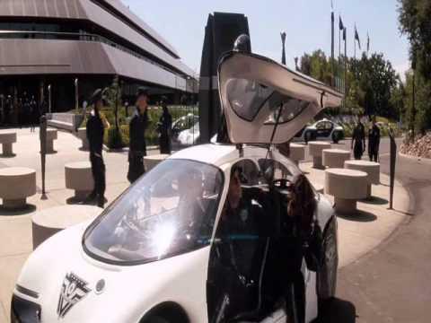 Demolátor - filmové auto